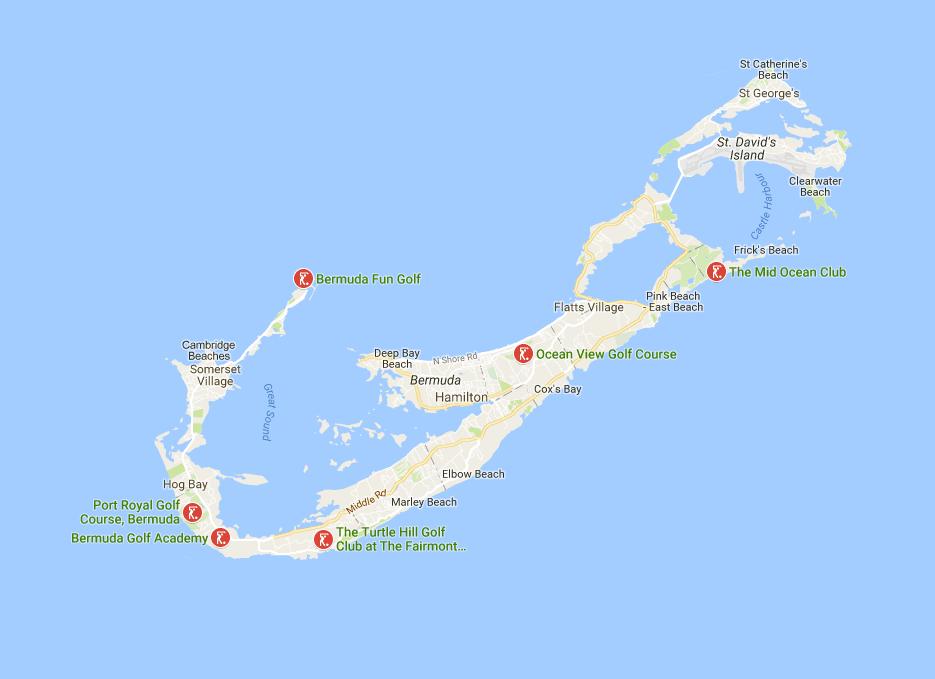 bermuda road map images