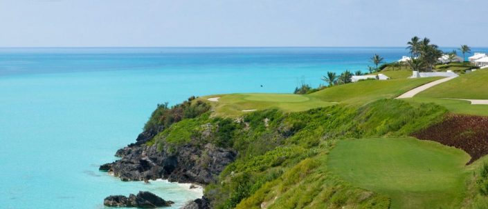 Port Royal Golf Course Hole 16 From The Tee Box Overlooking The Atlantic Ocean