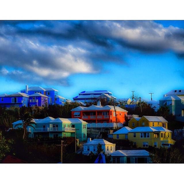 Pastel Bermuda Houses