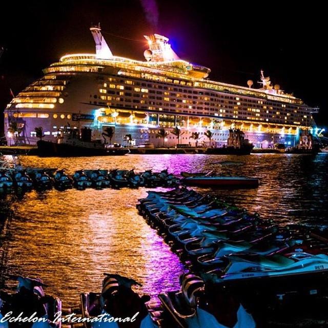 Cruise Ship in Dockyard