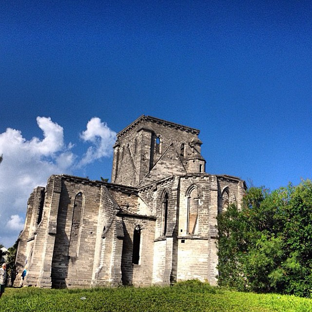 Unfinished Church in St.Georges
