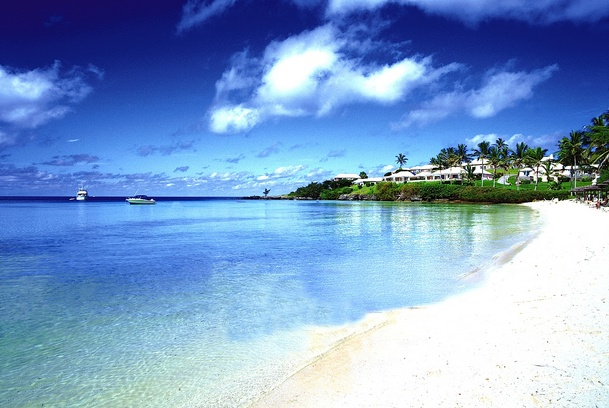 Best of Bermuda Long Bay Beach and Cambridge Beaches Cottages overlooking bay