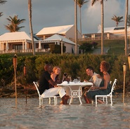 Best Bermuda Hotel Cambridge Beaches Resort and Spa Beachfront Dining