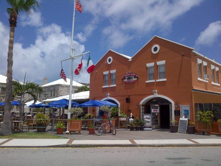 Best Bermuda Dockyard Restaurant and Nightlife Bone Fish